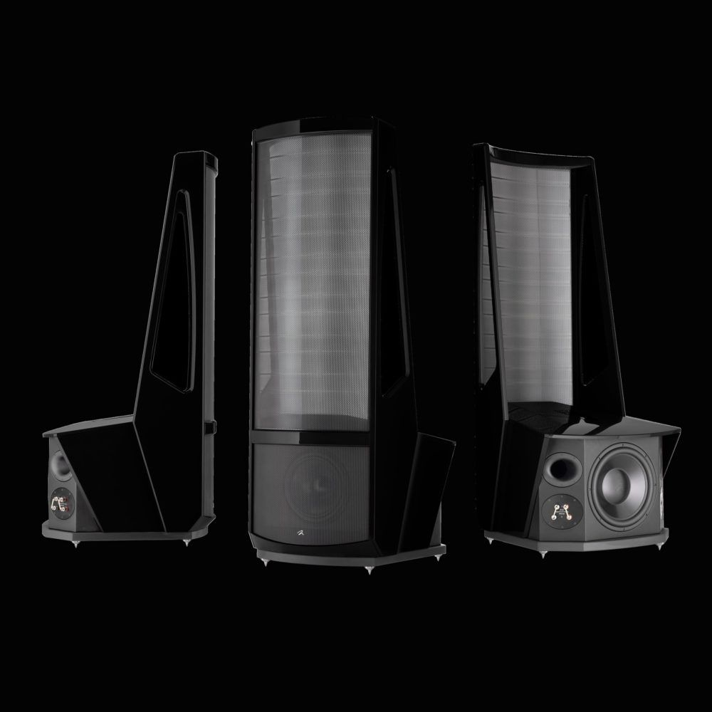 Martin Logan Neolith Basalt Black (Gloss Metallic)