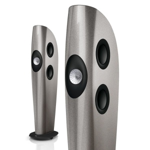 KEF BLADE Two Light Metallic Silver